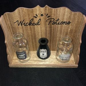 Halloween Prop Decoration Potions Display Case